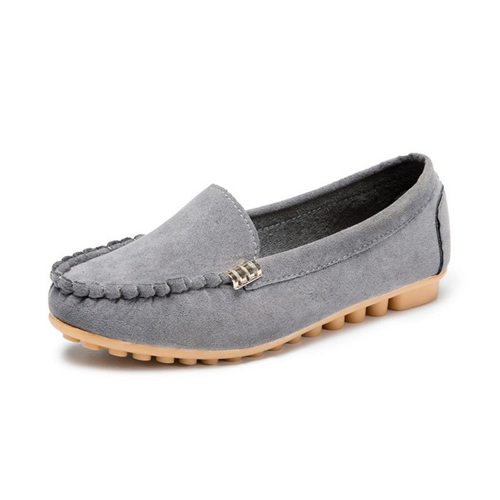 Ladies Womens Moccasin Loafers Boat Shoes Casual Comfort Bowknot Flat LG